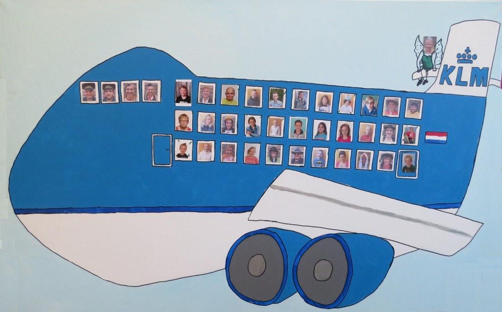Vliegtuig kindervakantieweeh 2016